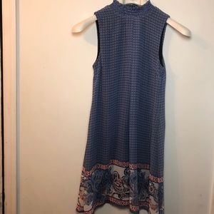 Speechless mini patterned dress